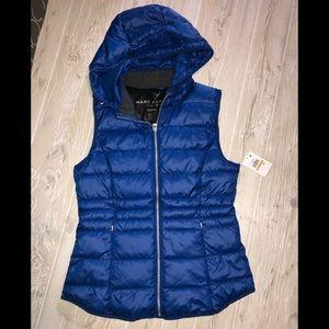 NWT Marc New York Puffer vest jacket